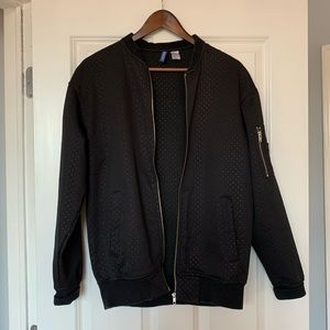 Men's H&M Black Bomber